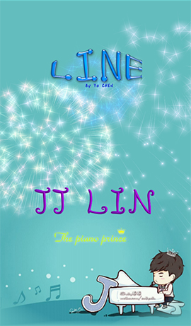 LINE theme for Android-JJ Lin-cute version (1)
