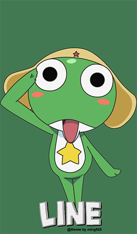 LINE theme for Android-KERORO (1)
