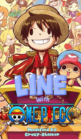 LINE theme for Android_Cute ONE PIECE (1)