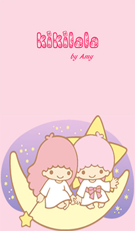 LINE theme for Android_Little Twin Stars (1)