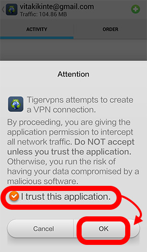 TigerVPN-an useful tool for network encryption which allows you to connect mobile to China, Hong Kong and Singapore! (Android) (9)
