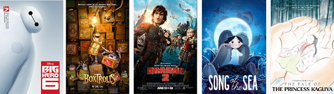 2015 Oscars Nominations_Animated Feature Film