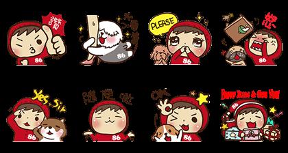 LINE sticker3580