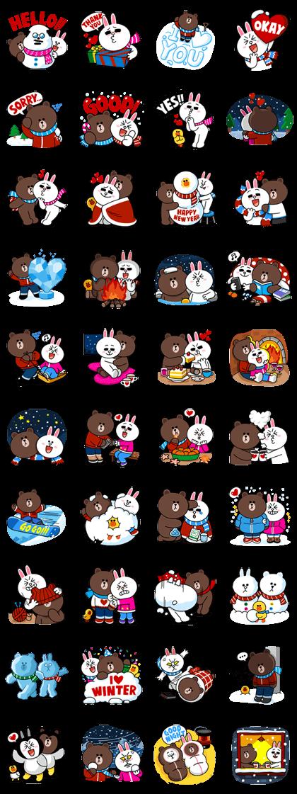line sticker3587