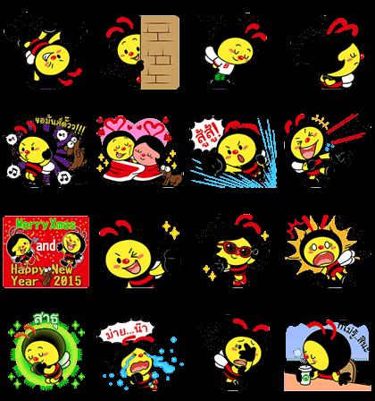 line sticker3660