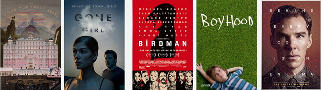 2015 Golden Globe Awards - BEST SCREENPLAY - MOTION PICTURE