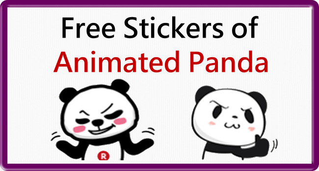 Animated LINE stickers_Shopping Panda_650