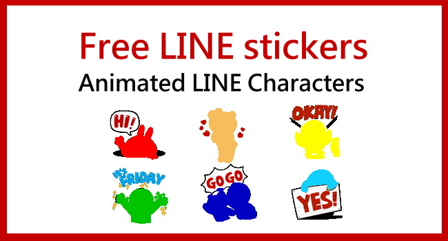 LINE stickers of LINE characters_650