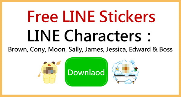 Download free stickers of LINE characters_Mar 16_650