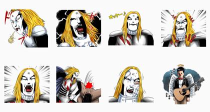 LINE manga sticker 976