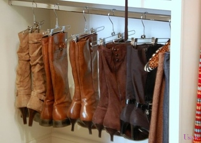 【Life Tips】Awesome Ideas to Organize Shoe Closet by door (1)