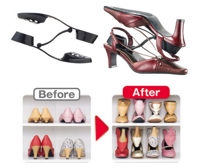 【Life Tips】Awesome Ideas to Organize Shoe Closet by door (6)