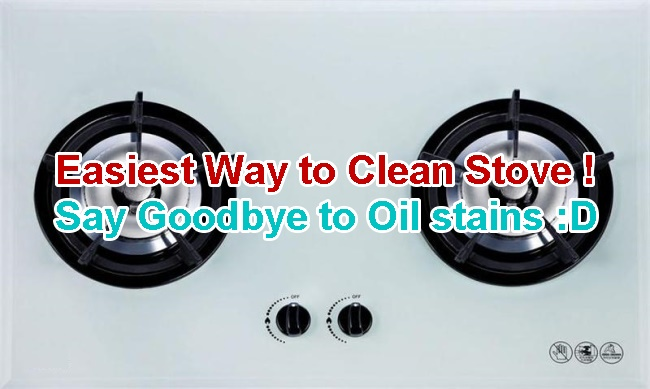 【Life Tips】How to clean & remove oil stains from kitchen stove 1