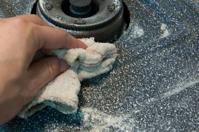 【Life Tips】How to clean & remove oil stains from kitchen stove 3-4