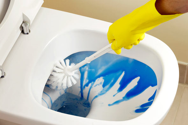 Remove bad odors from bathroom 5