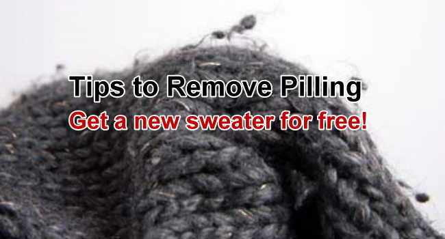 Remove pilling on sweaters 5