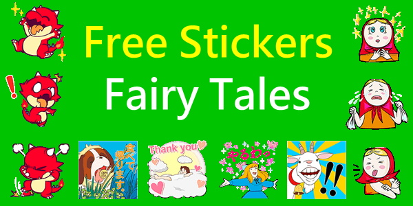 【LINE stickers】Free List of  A Girl of the Alps