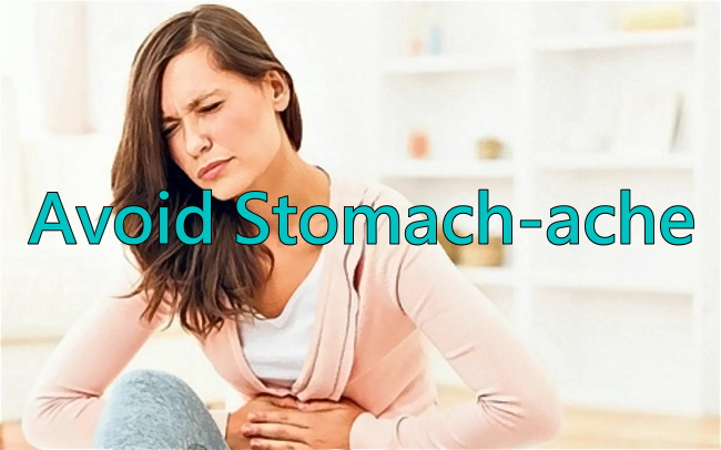 Relieve Stomachache and Stomach Pain