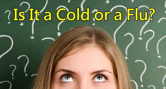 Flu  Symptoms vs Cold Symptoms 1