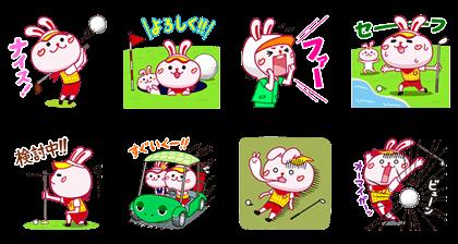 line sticker4687