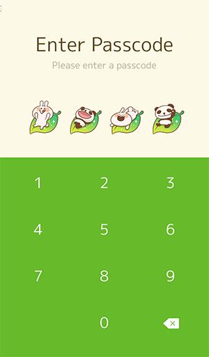 【Free List】LINE Theme PANDA & Lovely Rabbit. Android &iOS (4)