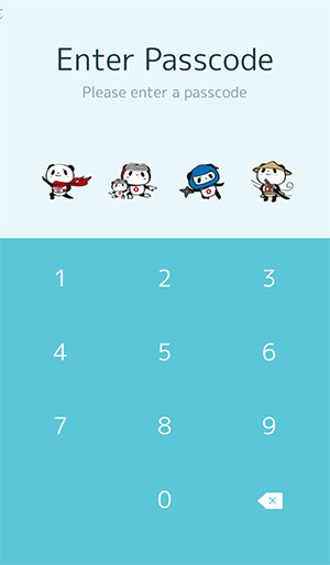 LINE theme of shopping panda for Adroid and ios (4)
