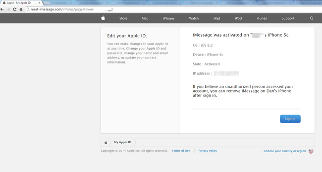 【Scam Alarm】Fake iMessage & iCloud May Hack Apple ID (2)