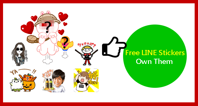 free line sticker list_line bubble2_650