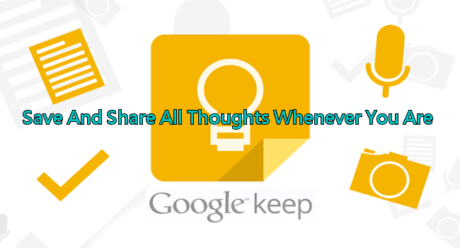 Free App】Download Google Keep to Save & Share Ideas! (iOS/Android