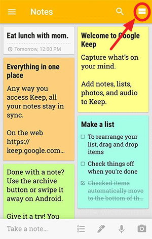 Download Google Keep_App for iOS and Android & Chrome Extension (10)