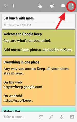 Download Google Keep_App for iOS and Android & Chrome Extension (11)