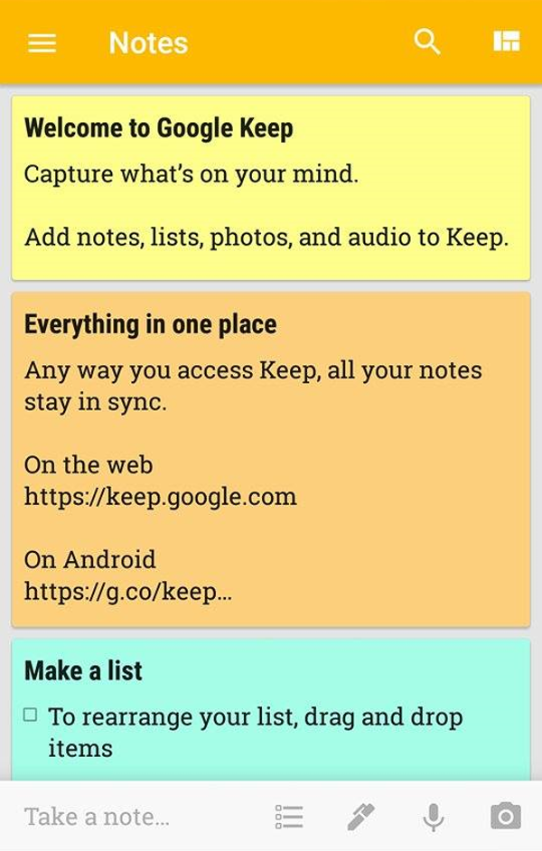 Download Google Keep_App for iOS and Android & Chrome Extension (2-2)
