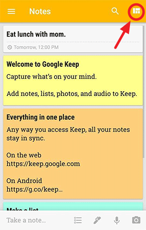 Download Google Keep_App for iOS and Android & Chrome Extension (9)