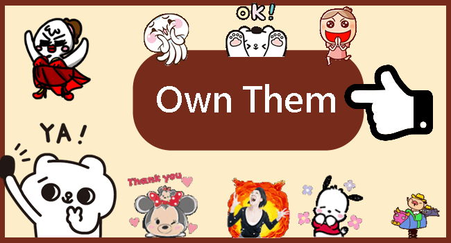 Free LINE Sticker List 1116