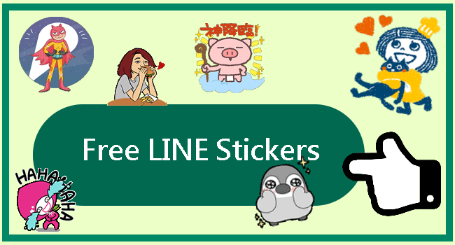 Free LINE Sticker List for Android and iOS_1110