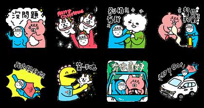 line sticker5624