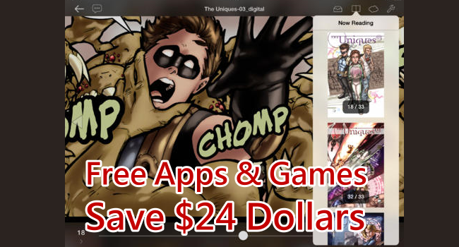 Apps and games gone free for iOS 0223 650