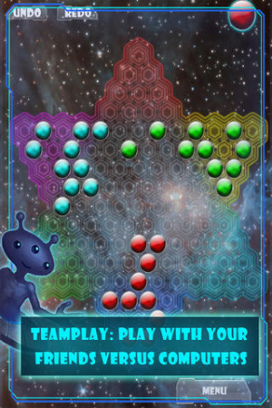 Daily Free Apps & Games to Download for iOS-Space-Checkers 2