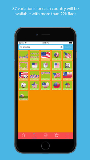 iOS daily games and apps gone free-Flag Filter 1