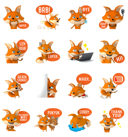 free LINE sticker list 6144