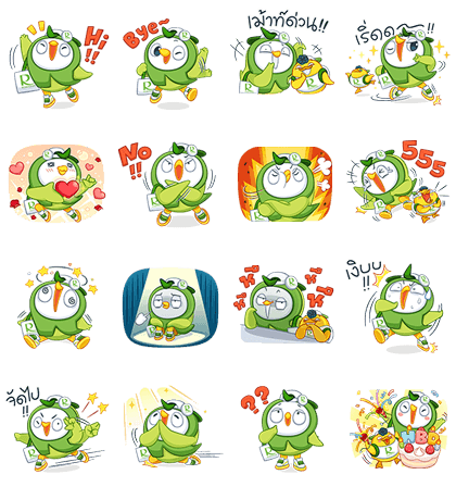 20160419 FREE LINE STICKERS (5)