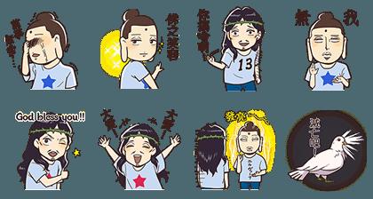 20160617 free line sticker