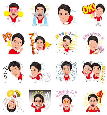 20160705 animal free line stickers (10)