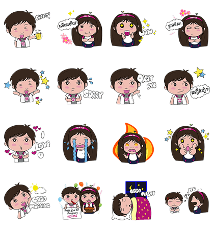 20160705 animal free line stickers (22)