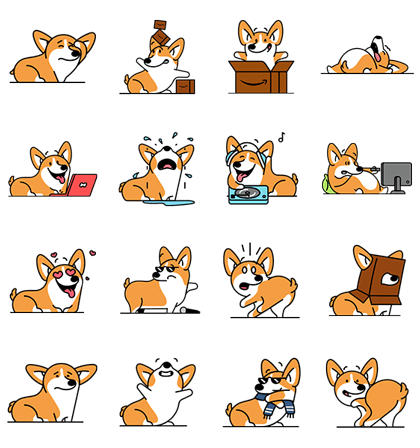 20160705 animal free line stickers (5)