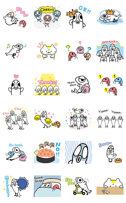 160905 LINE stickers (2)