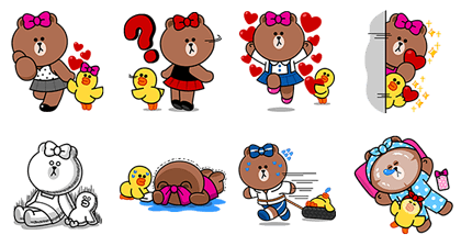 20161004 free line stickers (1)