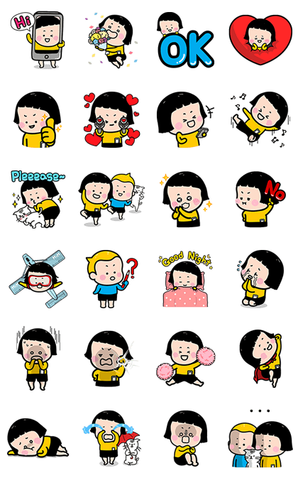 161128 LINE Stickers List (10)