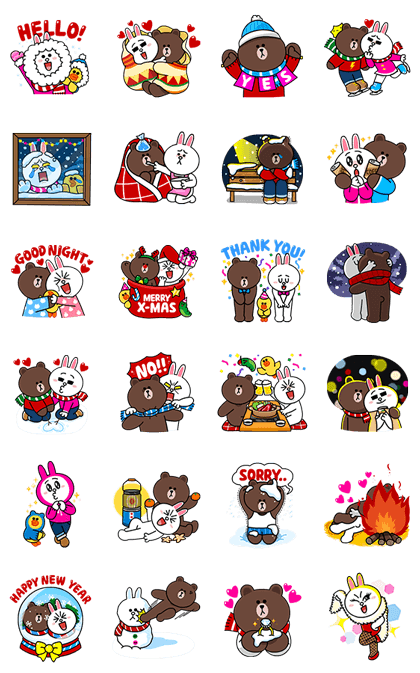 161220 Free LINE Stickers (5)