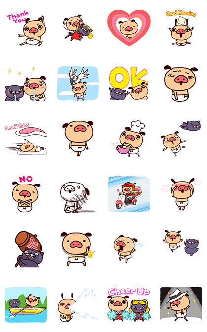20170109 free line stickers(8)